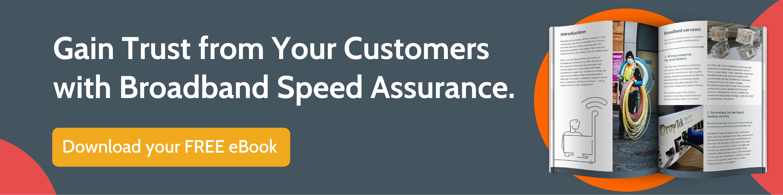 Broadband speed assurance ebook