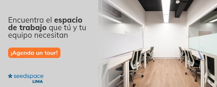 encuentra el espacio de trabajo que tu y tu equipo necesitan