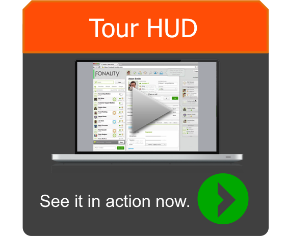 Tour HUD - Heads Up Display