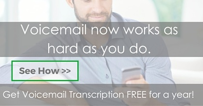 Voicemail Transcription - Free for a Year