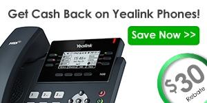 Get cash back on Yealink phones
