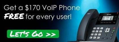 Free Yealink T42G for Every User - August Promotion