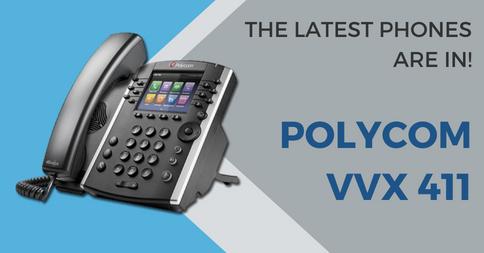 Polycom VVX 411