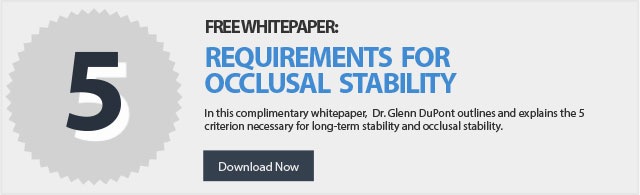 dental occlusion stability whitepaper