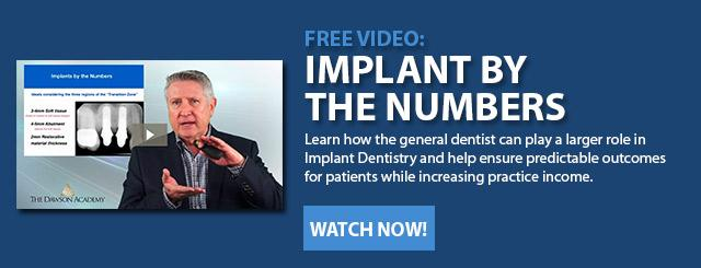 Dental Implants for the General Dentist