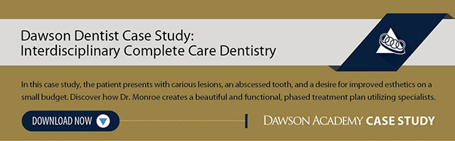 Interdisciplinary Complete Care Dentistry Case Study
