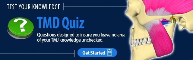 Test your knowledge on occlusomuscle disorders