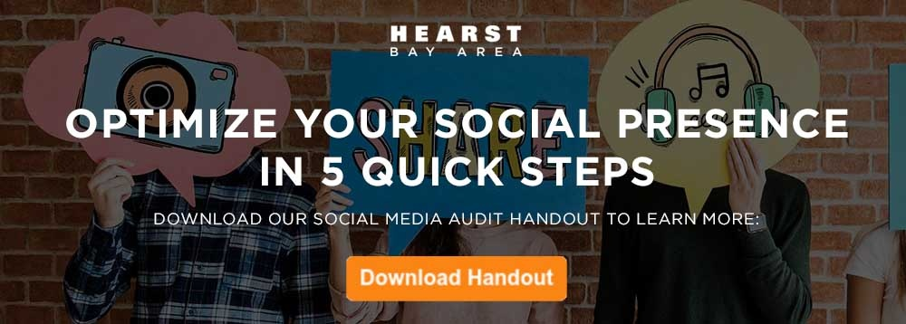 Hearst Bay Area Social Media Audit Handout