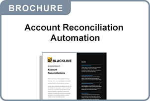 Account Reconciliation Automation brochure