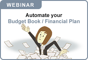 Automate your Budget Book / Financial Plan
