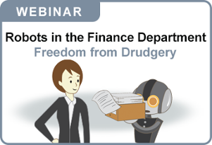 Robots in the Finance Department Webinar