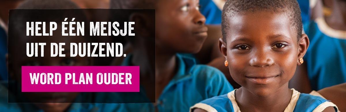 Help één meisje uit de duizend. Word Plan Ouder.