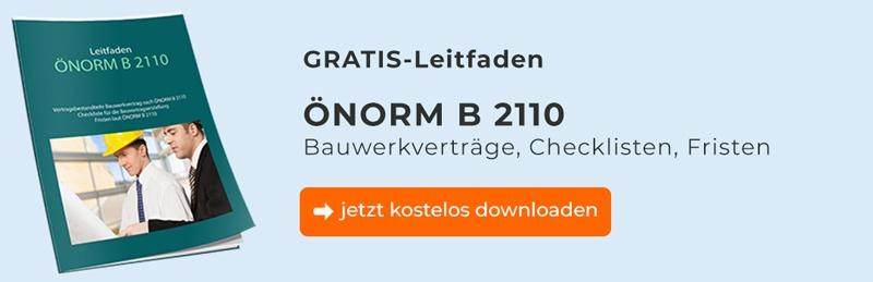 ÖNORM B 2110 Leitfaden kostenlos