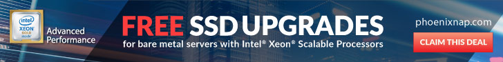 FREE SSD Upgrades on Servers with Intel Xeon Scalable Processors!