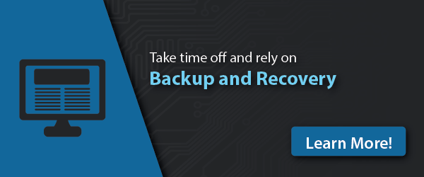 Take time off and rely on Backup and Recovery