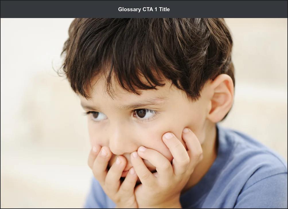 Glossary CTA 1 Title