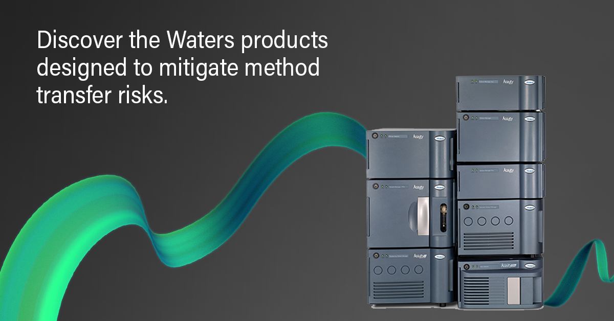 Discover the Waters products designed to mitigate method transfer risks
