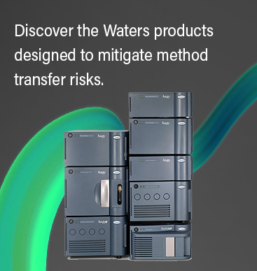 Discover the products designed to mitigate method transfer risks