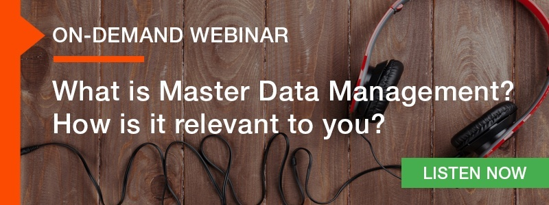 What is Master Data Management?