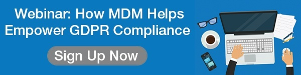 How MDM helps empower GDPR compliance