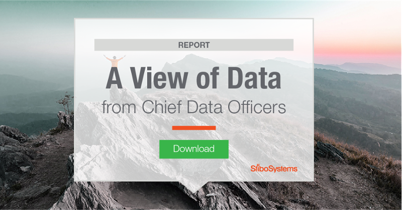 A view of data from Chief Data Officers (CDOs)