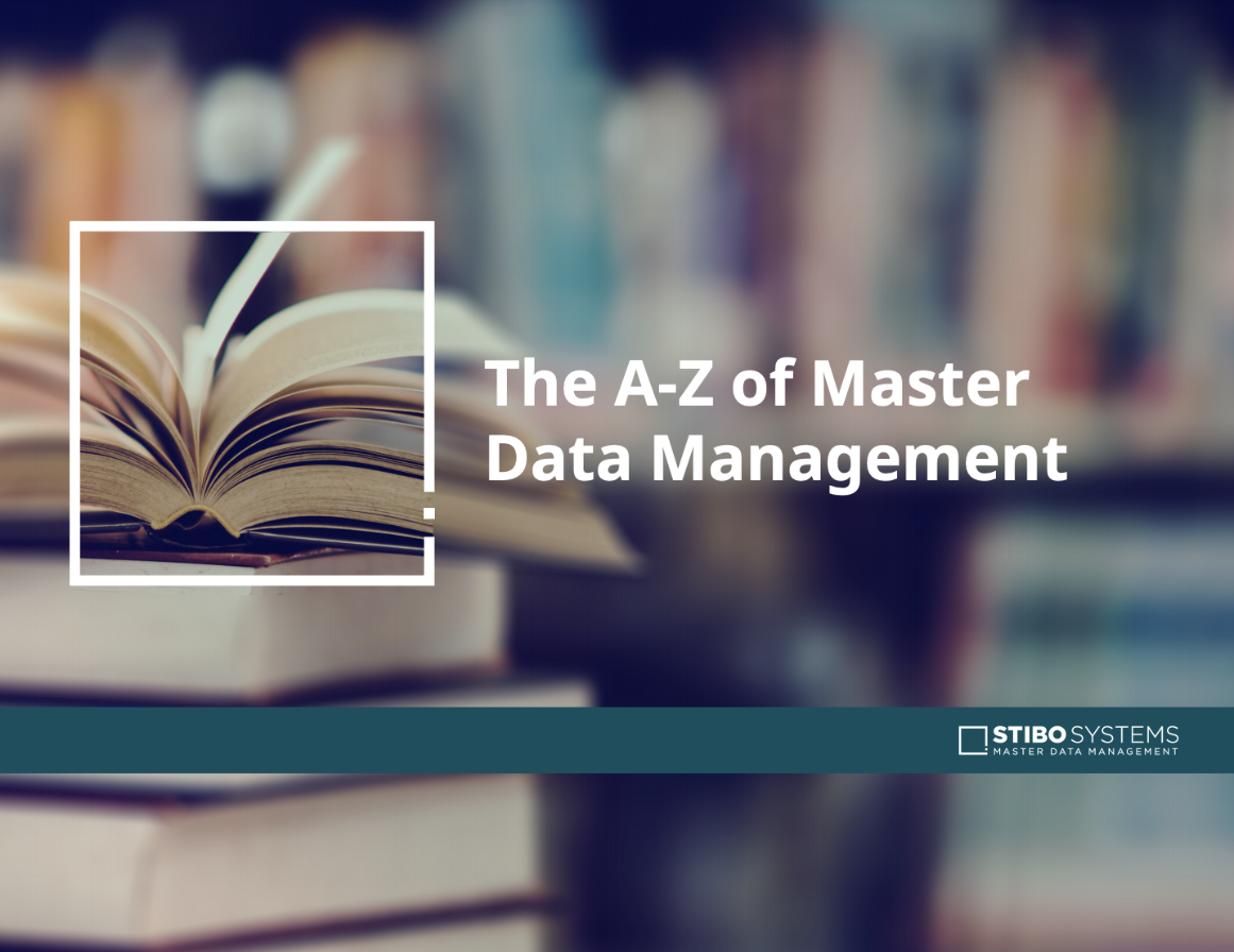 the a-z of master data management