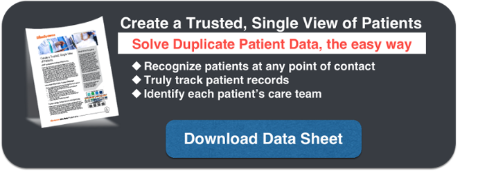Enterprise Master Patient Index Data Sheet