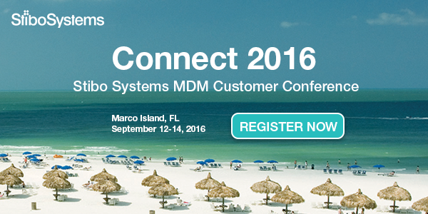 Connect 2016 Stibo Systems MDM Customer Conference