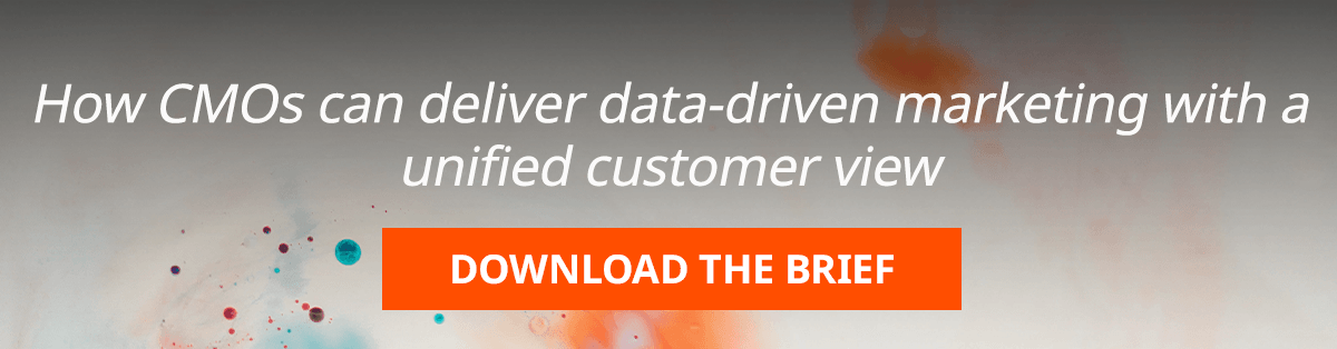 How CMOs can deliver data-driven marketing with a unified customer view