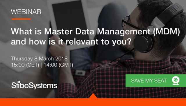 Master Data Management webinar