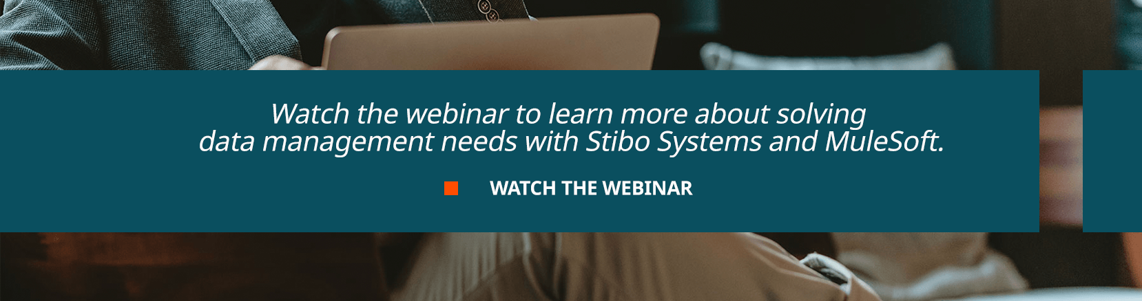 Watch the webinar to learn more about solving  data management needs with Stibo Systems and MuleSoft.