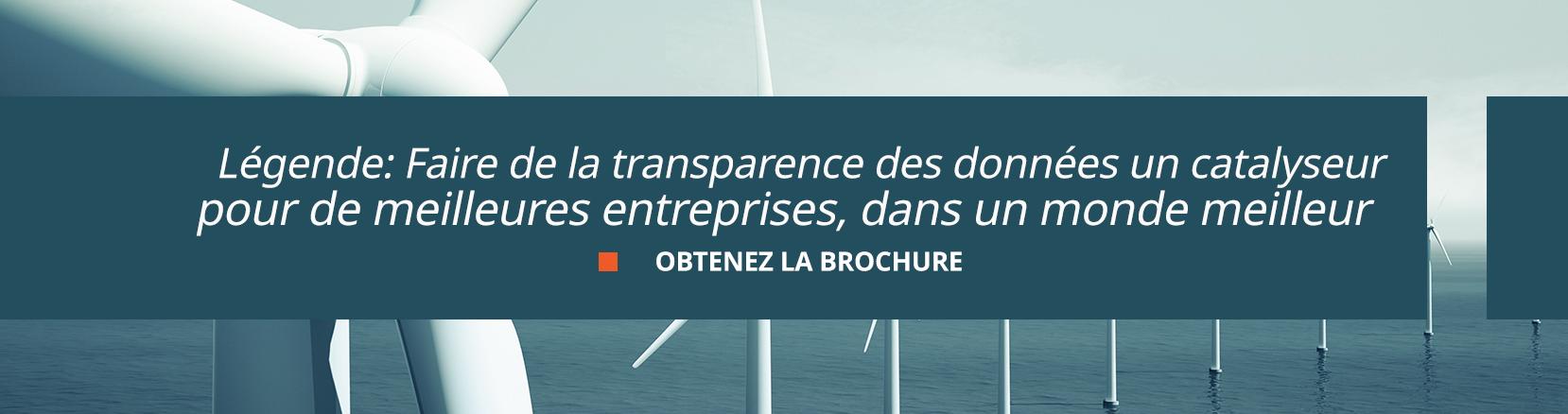 faire de la transparence des données