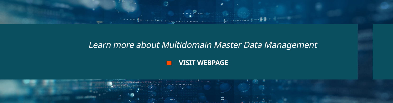 Learn more about Multidomain Master Data Management