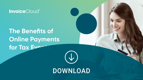 the benefits of online payments for tax events