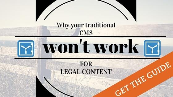 Ebook: Why your CMS doesn't work for legal content