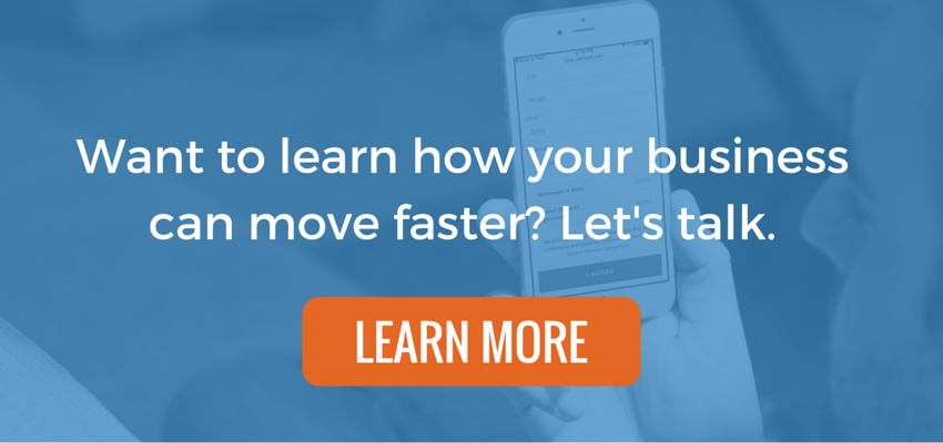 Learn more about doing business faster!