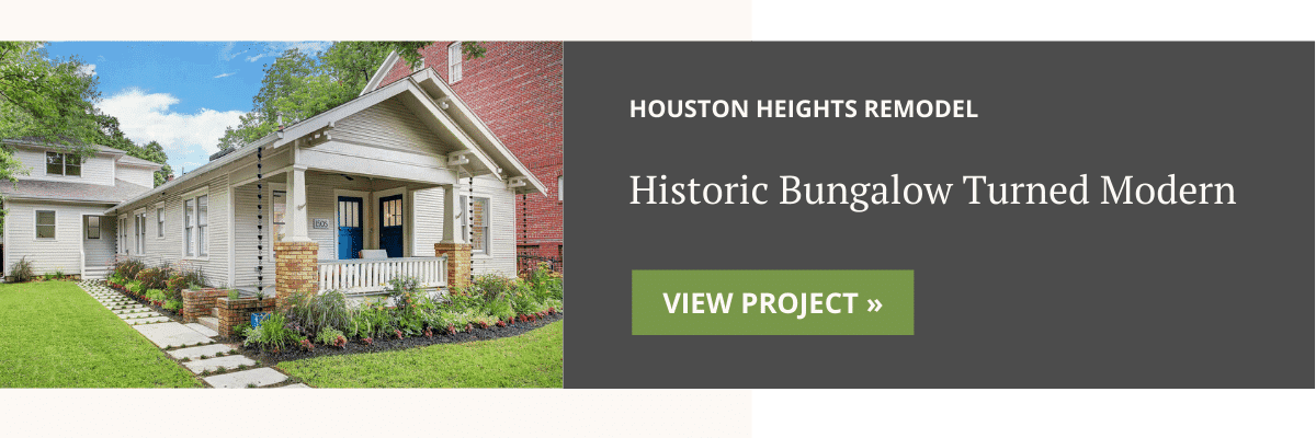 Oxford Project Spotlight - Historic Bungalow Turned Modern