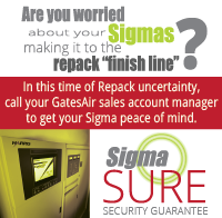 Are you worried about your Sigmas making it to the finish line? Contact GatesAir for peace of mind.