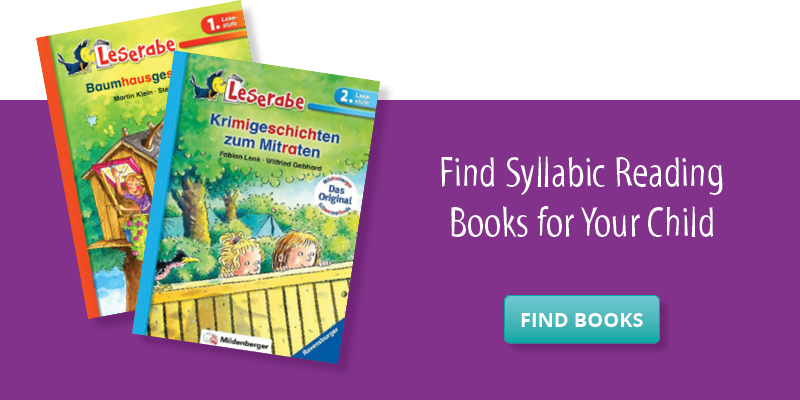 Find Syllabic Reading Books for Your Child
