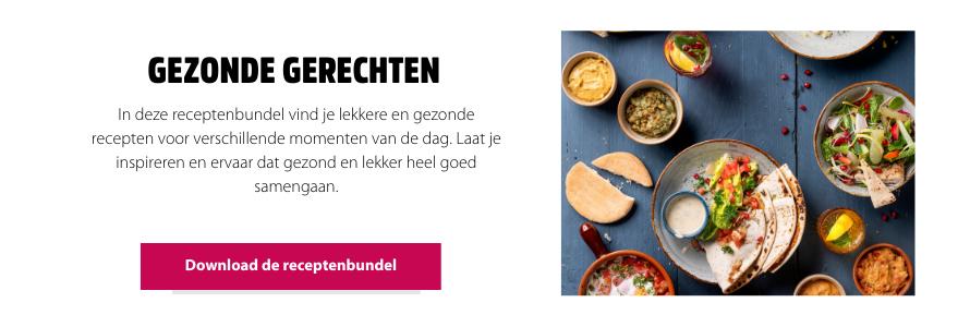 Gezonde gerechten receptenbundel