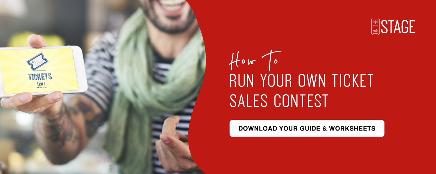 Run your own sales ticket contest