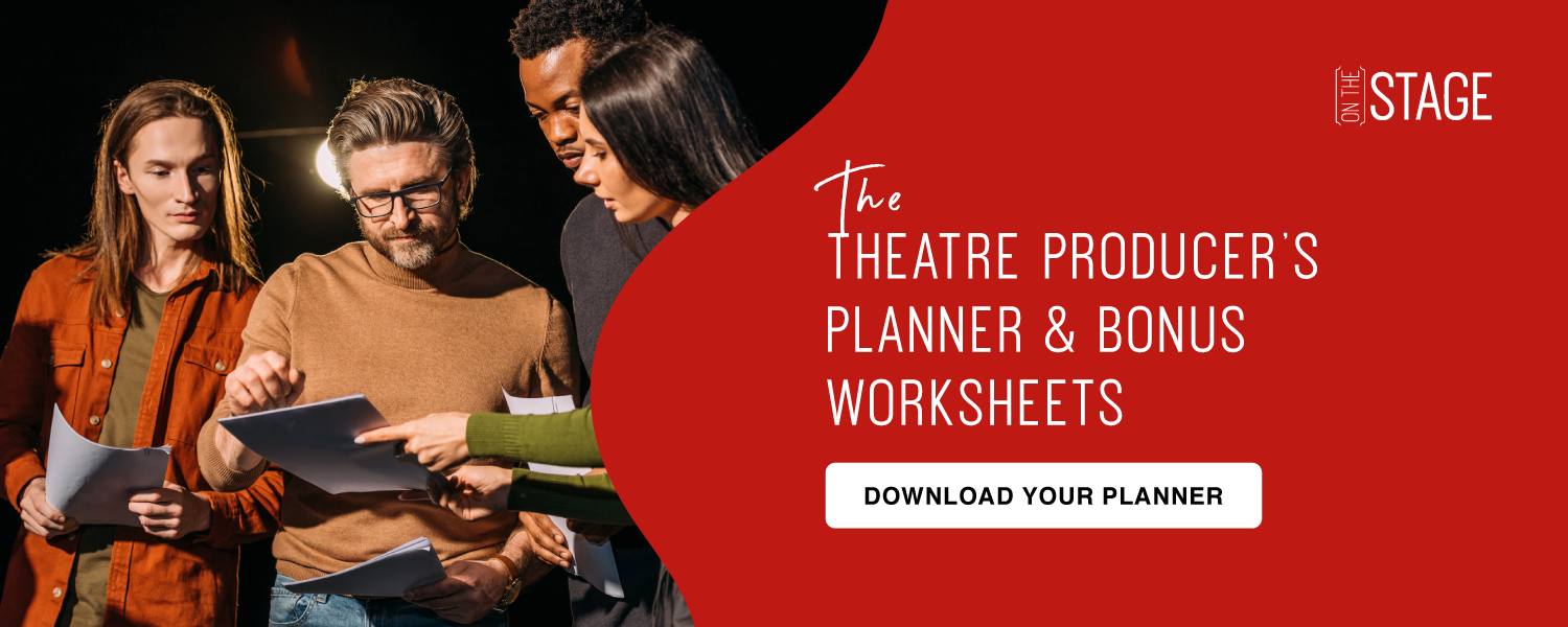 Theatre Producer's Planner and worksheets