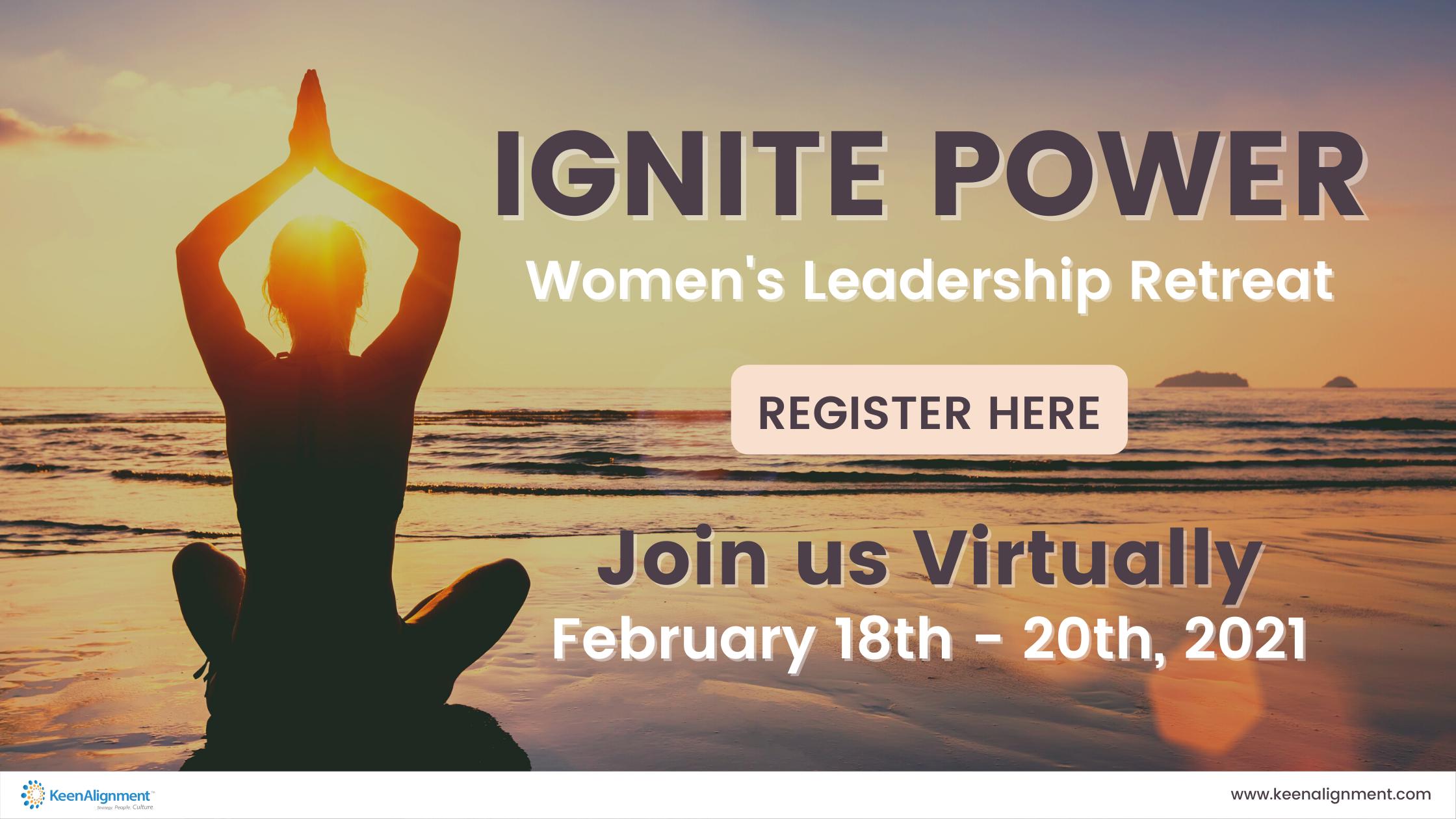 Register for Ignite Power - Keen Alignment