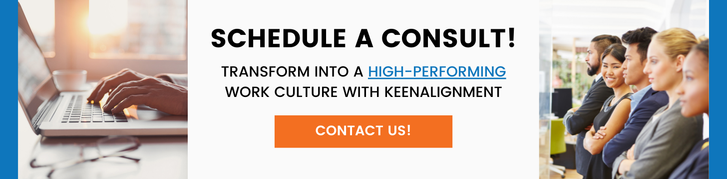 Schedule a Consult - High-Performing Culture