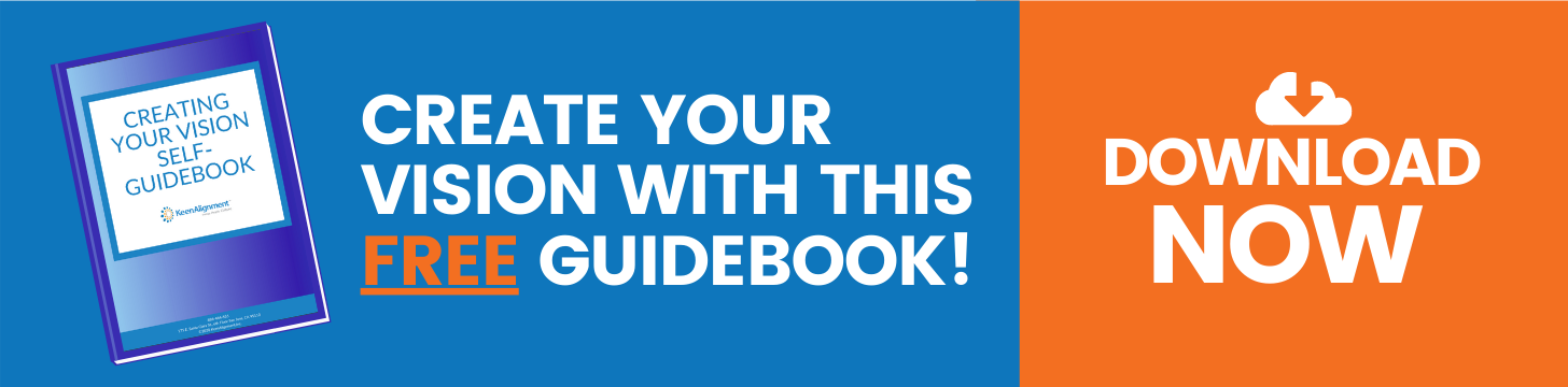 Create Your Vision Self-Guidebook - KeenAlignment