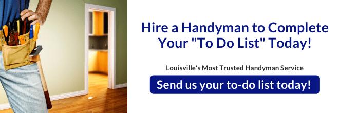 Handyman Checklist Solved With Handyman Services In Louisville Kentucky