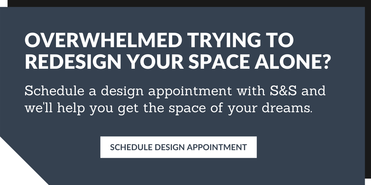 Schedule a design appointment with S&S Woodcraft