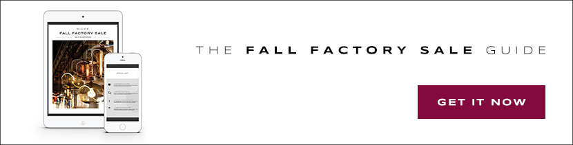 Fall Factory Sale Guide