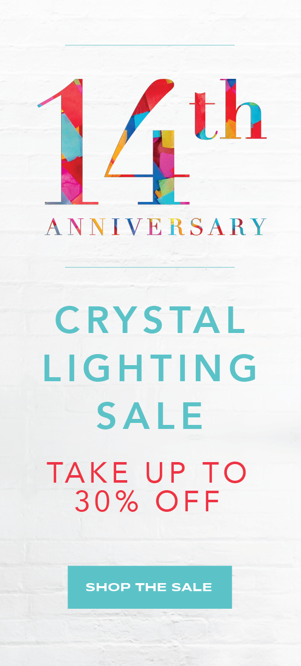 Take 30% Off Crystal Lighting