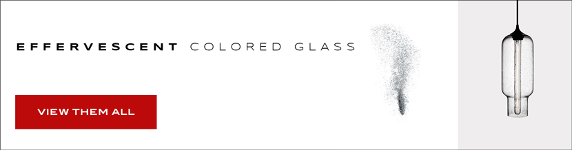 Effervescent Colored Glass
